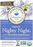 Organic Nighty Night Herbal Tea - 16 Tea Bags - Case of 6 by Traditional Medicinals