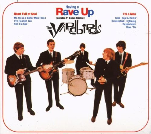 Having A Rave Up by Yardbirds Import, Original recording remastered edition (1999) Audio CD