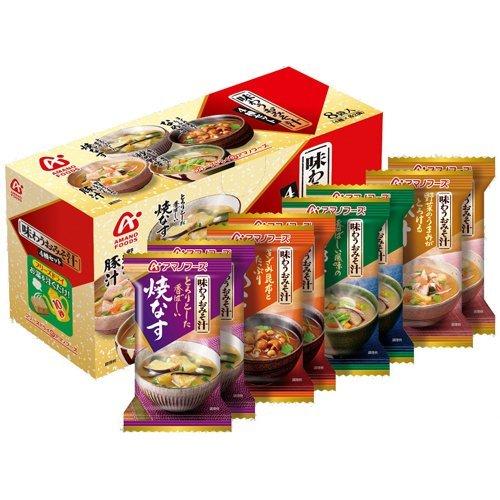 アマノフーズ 味わうおみそ汁 8食(4種×2個)