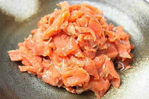 築地の王様 サーモンソフトルーススライス 1kg 塩味の切り落としでサラダやトッピングに便利 サーモン 紅鮭 鮭 トロ トロサーモン 刺身 オードブル スライス