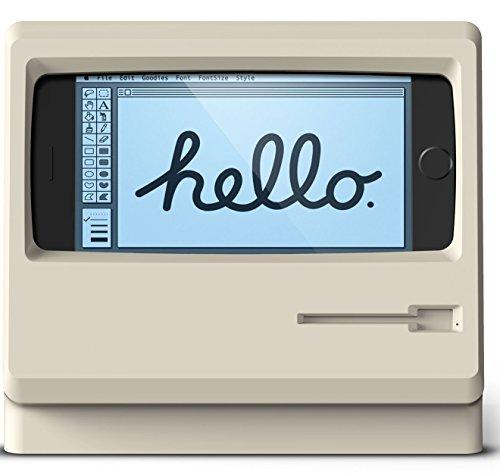 elago M4 STAND スマホスタンド シリコン 充電 スタンド [ iPhone8 / iPhone7 / iPhone6s / iPhone6 専用 ] クラシックホワイト
