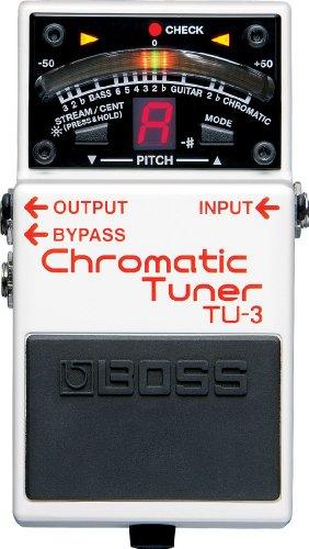 BOSS ボス CHROMATIC TUNER クロマチック・チューナー TU-3 【徹底紹介】田渕ひさ子のエフェクターボード・機材を解析!ツマミ・ノブの位置も分かる!ギターを支える足元の機材の数々を紹介! #田渕ひさ子 #ナンバーガール #ギター #エフェクター【金額一覧】