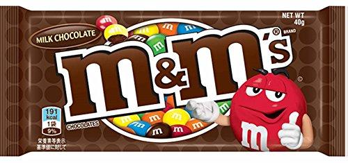 マースジャパン M&M'S ミルクチョコレートシングル 40g×12袋