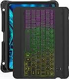 Inateck iPad Pro 11 キーボードケース、DIYバックライト付き、分離式、KB02005