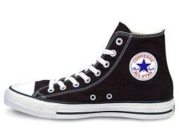 [コンバース] CONVERSE CANVAS ALL STAR HI キャンバス オールスター ハイ 定番 レディース (US5.5/24.5cm, BLACK)