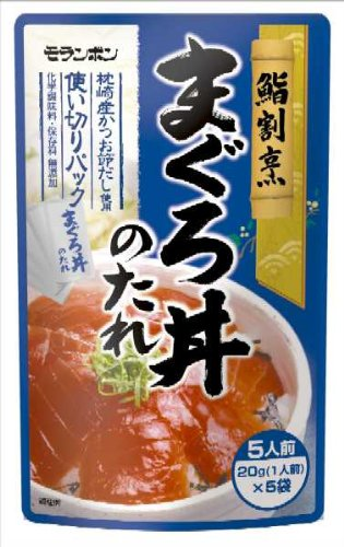 モランボン 鮨割烹まぐろ丼のたれ 100g(20g×5)×10袋 -