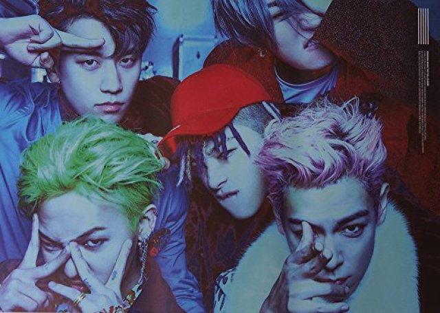 【公式ポスター】 BIGBANG ビックバン - MADE the Full Album OFFICIAL POSTER (Double-side) サイズ 72 x 51 cm [ポスター専用ケース] [韓国製]