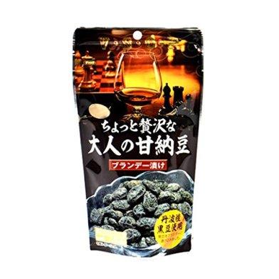 【自然の館】 ちょっと贅沢な大人の甘納豆150g【ブランデー漬け】