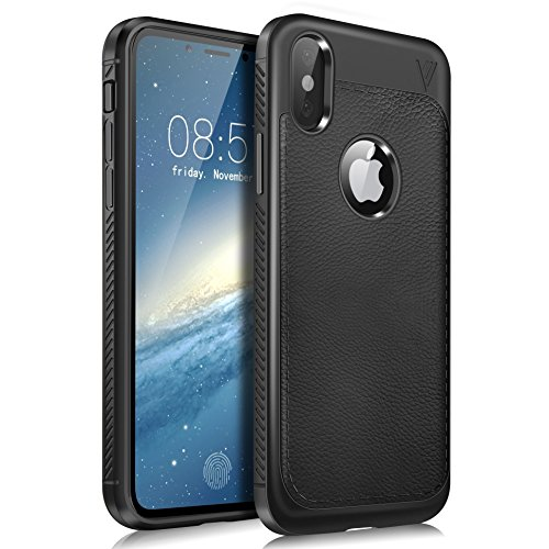 KuGi iphoneX ケース iphone X カバー 超軽量 落下防止 シンプル ソフト ケース 衝撃吸収 背面カバー 耐スクラッチ Apple iphone X iPhone x Edition 保護カバー ブラック