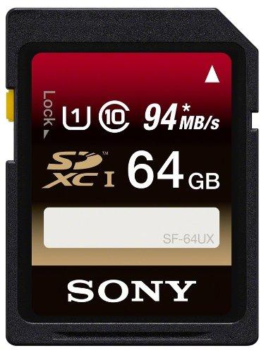 ソニー(SONY) SONY SDXC 94MB/s SF-64UX UHS-I 対応 64GB クラス10 ソニー 海外向パッケージ品