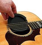 【slowhand】サウンドホールカバー ギター 弱音器 ミュート 消音 夜間練習用 (ホールカバー大)