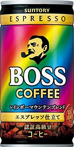サントリー コーヒー ボス レインボーマウンテンブレンド 185g×30本