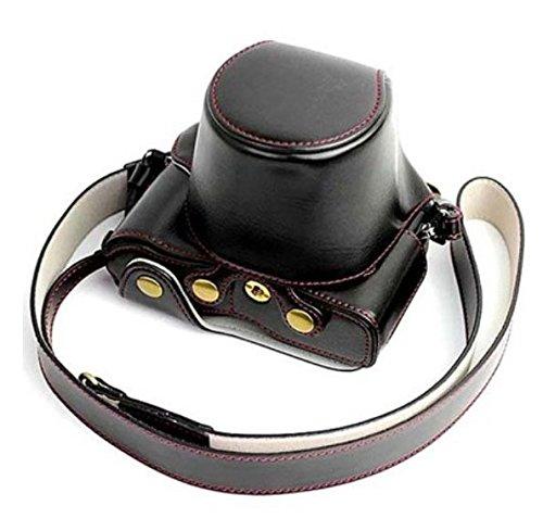 Gotor® PEN-F ミラーレス一眼カメラ 対応 交換用 プロテクト ケース (1#, ブラック)