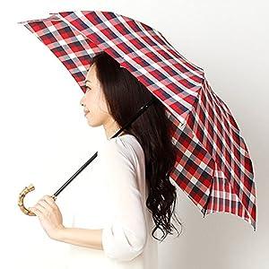 マッキントッシュ フィロソフィー(MACKINTOSH PHILOSOPHY) 【UV加工付】折りたたみ傘【33 レッド/55】