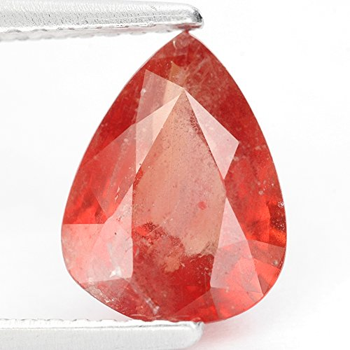 タンザニア ピンクがかったオレンジ パパラチアサファイア ・ルース 2.08 Ct. GLC認定証付き