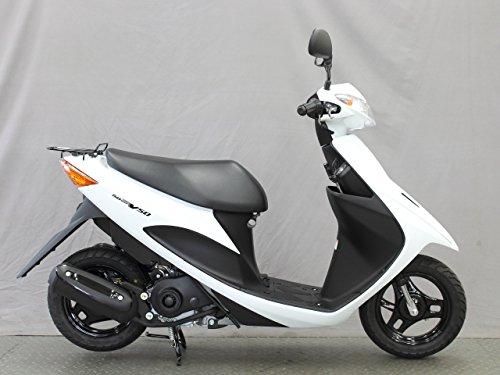 スズキ アドレスV50 FI 50cc 白 国内モデル15年・新車乗出し価格