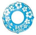 ドウシシャ 浮き輪 SayAloha ブルー 120cm