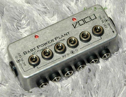 VOCU Baby Power Plant Type-C パワーサプライ パワーサプライ12V・15V・18V・24V対応特集。高電圧エフェクターの電源はコレ!