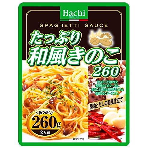 ハチ食品 たっぷり和風きのこ260g×12袋