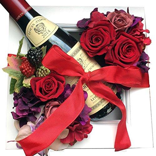 真っ赤な赤ワインは還暦祝いにオススメのギフト