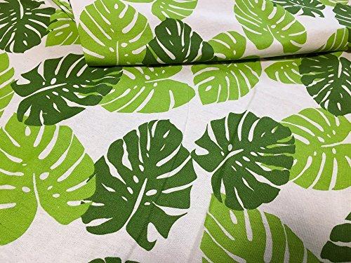 rrsou はぎれ 生地 ハワイアン 植物 布 ハンドメイド (2m)
