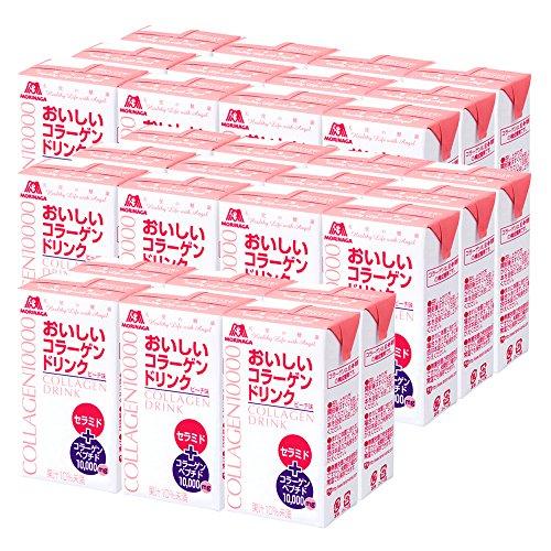 森永製菓 おいしいコラーゲンドリンク 125ml×30本 約30日分 ピーチ味