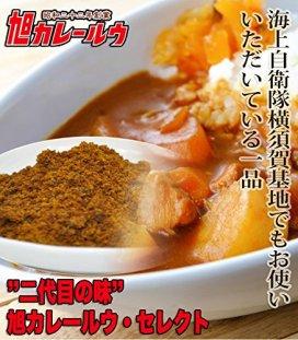【二代目の味】旭カレールウ セレクト【中辛】(1パック300g 約8~10食)【お試し】
