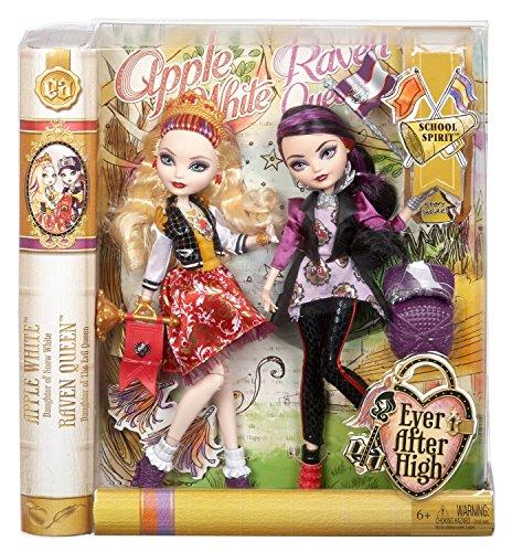 Ever After High【School Spirit】「アップル・ホワイト & レイヴン・クイーン」Doll(2体セット) [並行輸入品]