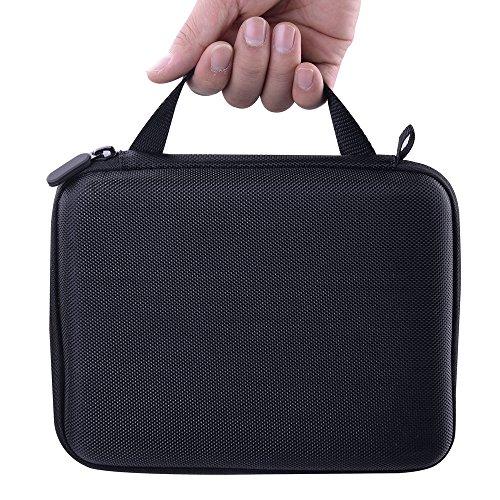 Andoer ポータブル 保護キャリングケース 耐水 EVA製 カメラ ストレージ バッグ Nikon KeyMission 170 アクションカメラ用