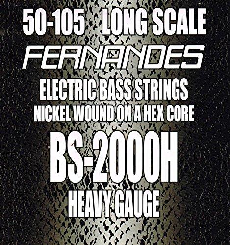 FERNANDES BS-2000H LONG SCALE 050-105 【560円~】安いベース弦特集! 値段を気にせず常に新しい弦で練習できるおすすめ格安・激安ベース弦!レビュー・感想【4弦・5弦・6弦・コーティング弦】
