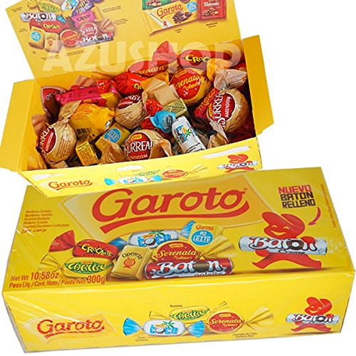 ボンボンチョコレート ガロット ソルチドス 355g詰合BOX/ブラジル GAROTO