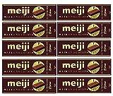 明治 ミルクチョコレートスティックパック41g(10枚)10箱