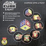 オモチャ パズルゲーム ライト ランプ 照明 絵あわせゲーム 内側 から 光 を 放つ きれい で オモシロい Rubiks Cube Light ルービ...