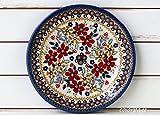 ポーリッシュポタリー (ポーランド食器) プレートS 中皿 取皿 ケーキ皿 17cm | CT130-DPLC