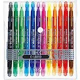 三菱鉛筆 水性ペン ピュアカラーF 12色 PW101TPC12C