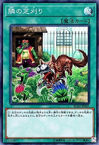 隣の芝刈り スーパーレア 遊戯王 レアリティコレクション 20th rc02-jp041