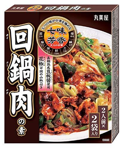 丸美屋食品工業 七味芳香 回鍋肉の素 120g×10個