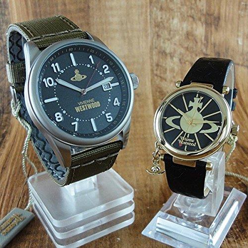 (ヴィヴィアンウエストウッド)Vivienne Westwood ペアウォッチ VV079BKGRVV006BKGD 腕時計【並行輸入品】