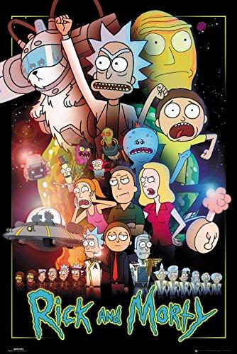 リック アンド モーティー ポスター ウォーズ 245 / Rick And Morty Poster Wars 245
