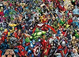 1000ピース マーベルキャラクター ジグソーパズル (69×50) Marvel アベンジャーズ Avengers [並行輸入品]