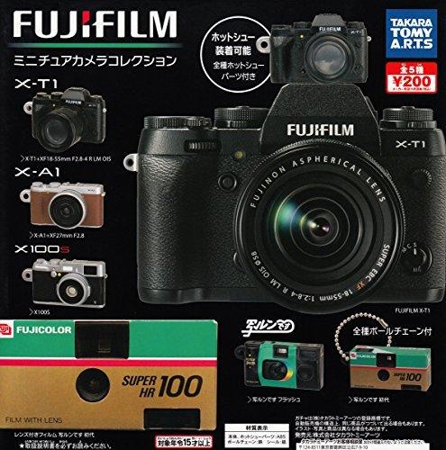 カプセル FUJIFILM 富士フイルム ミニチュアカメラコレクション 全5種セット