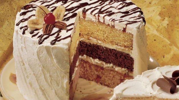 Image result for Banana Split Cake