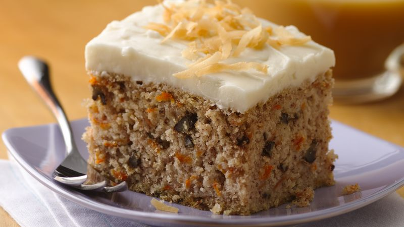Easy Gluten Free Carrot Cake Recipe   BettyCrocker com Easy Gluten Free Carrot Cake