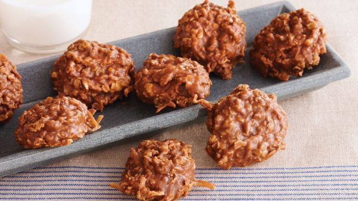 Image result for no bake Chocolate Oatmeal cookies recipe