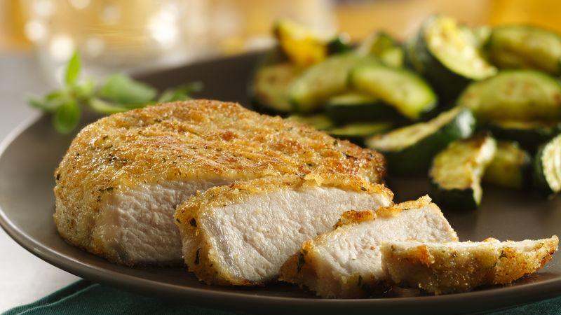 Italian Breaded Pork Chops