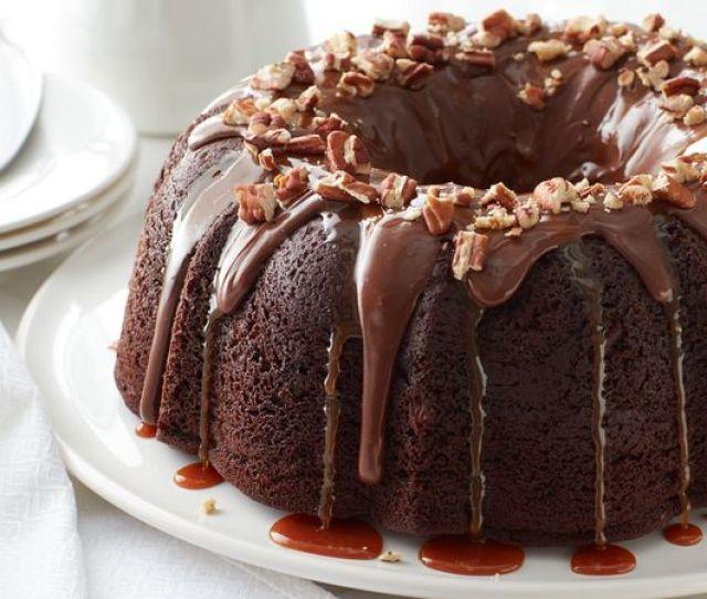 Turtle Bundt Cake