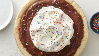 Easy Chocolate Pudding Pie Recipe - Pillsbury.com
