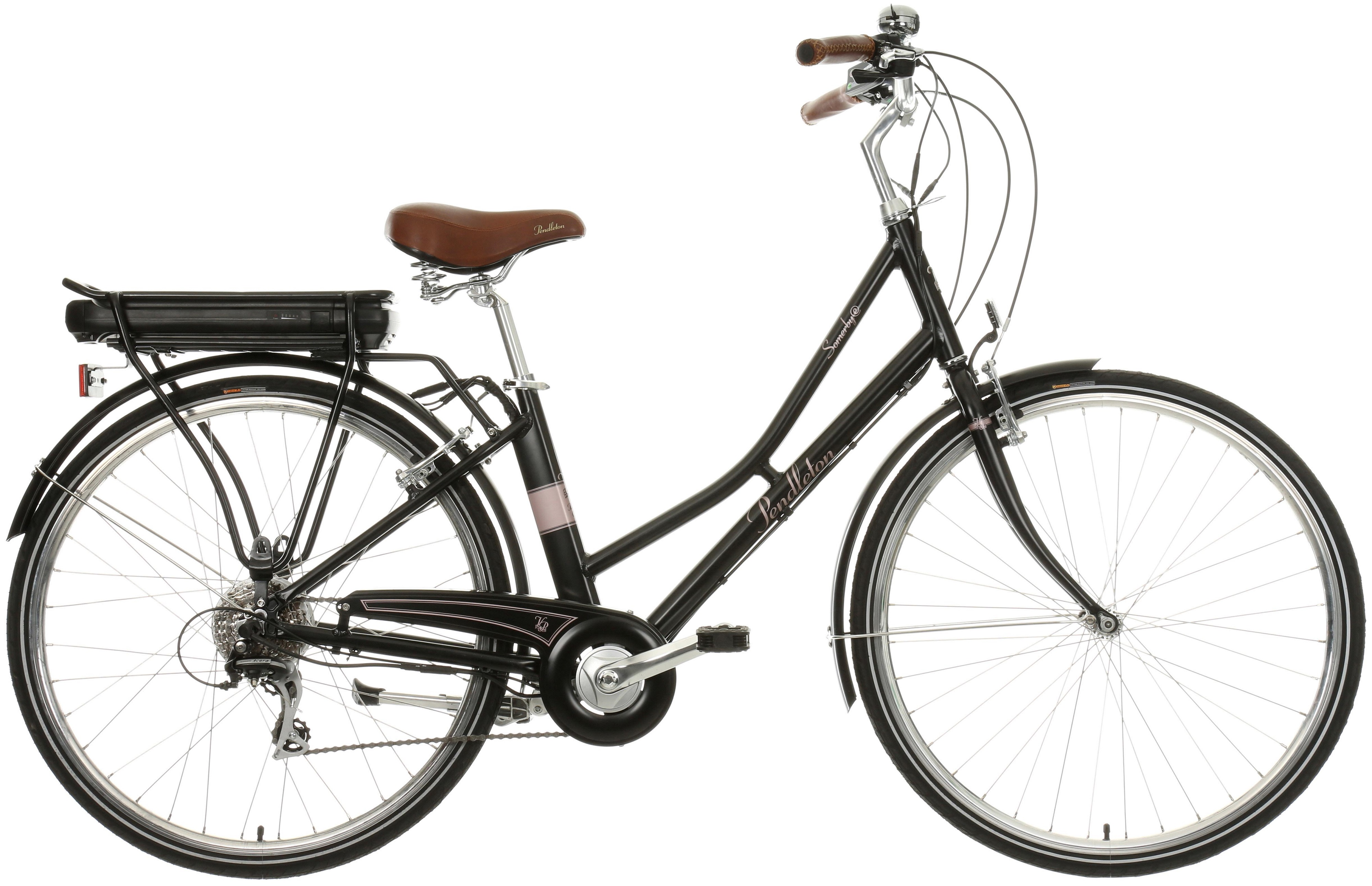 Pendleton Somerby Womens Electric Bike Black 700c Wheels
