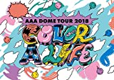 AAA DOME TOUR 2018 COLOR A LIFE(Blu-ray Disc+グッズ)(初回生産限定盤)