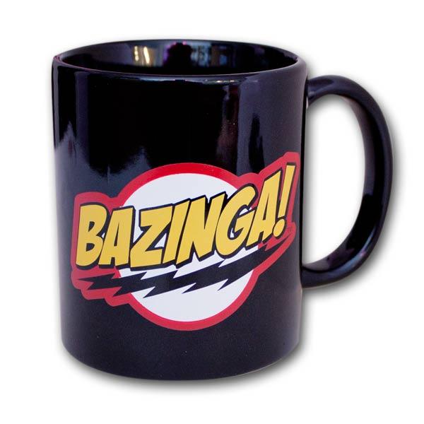 The Big Bang Theory Bazinga Coffee Mug Black